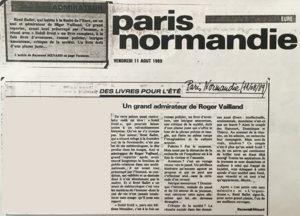 thumbnail of Paris Normandie