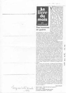 thumbnail of Des hommes de guerre – Gérard Streiff